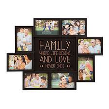 multiple picture frames family. Picture Collage Maker Multiple Frame Frames Family 4x6 Words Holder For Wall #Melannco U