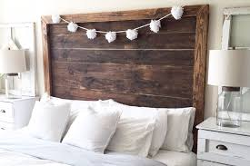 modern farmhouse headboard diy