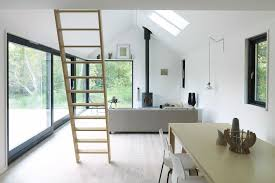 Gallery Vacation Cottage In Denmark Møn Huset Small House Bliss - Black window frames for new modern exterior