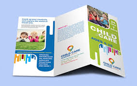 trifold brochure indesign template 10 elegant adobe indesign phothop ms publisher child care brochure