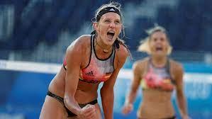 Beach volleyball-German women pair ...