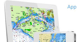 Aqua Map Marine Gps Offline Charts Best Iphone Gps App With