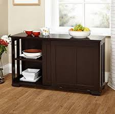 Perfect Amazon Kitchen Cabinet Doors Simple Living Sliding Door Stackable Espresso In Design Decorating
