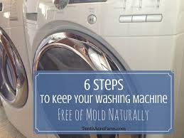 Cleaning Front Load Washing Machine 6 Steps To Keep Your Washing Machine Free Of Mold Naturally