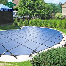 safety pool covers. LOW PRICE,automatic PVC Winter Solid Safety Pool Cover For Family Covers D