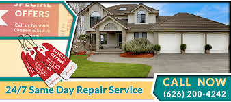Special Offer, Coupon, Discounts For Garage Door & Gate Services