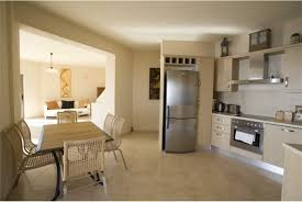 Kitchen And Living Room Open Plan