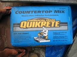 mixing quikrete countertop mix concrete home depot canada making a mix quikrete countertop