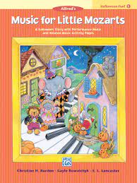 Music for Little Mozarts Halloween Fun, Bk 1: A Halloween Story with  Performance Music and Related Music Activity Pages (Music for Little Mozarts,  Bk 1): Barden, Christine H., Kowalchyk, Gayle, Lancaster, E. L.: