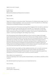 How To Write A Cover Letter For A Journal Journal Cover Letter Template Brightbulb Co