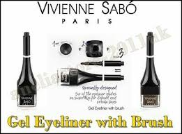 <b>Vivienne Sabo</b> EYELINER GEL Eyeliner with Brush 01 Black 1.7 ml ...