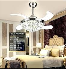 crystal chandelier fan chandelier fan light invisible crystal chandelier fan light dining room fan light chandelier