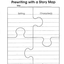 Narrative Story Template Story Map Puzzle Template The Teacher Within Me