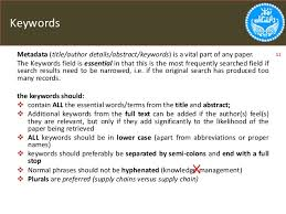 Custom research paper keywords