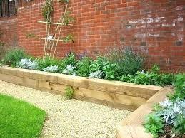 brick border garden edging ideas raised bed gardening tips on how to create glass bottle edging brick garden