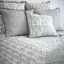 ikat duvet covers indigo a cushion cover w insert grey chevron ikat medallion duvet cover grey