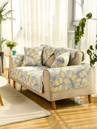 sofa slipcover leaves pattern country style modern antiskid sofa cover slipcovers linens at jolly chic