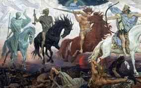 Описание <b>картины</b> Виктора Васнецова «Войны апокалипсиса»