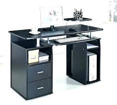 computer desk with shelves awesome computer desk table models for home design inside desks popular glass
