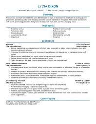 Resume Tips for Crew Member