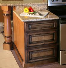 Rustic Kitchen Cabinets Rustic Pecan Maple Kitchen Cabinets