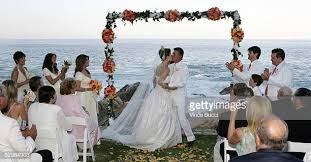 tanya callau wedding. Interesting Callau Actorproducer Alan Thicke And Model Tanya Callau Kiss During Their Wedding  Ceremony On May For Wedding O