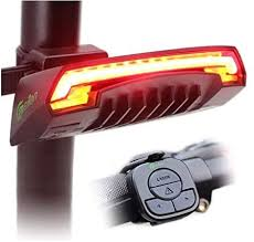 <b>MEILAN X5</b> Wireless Remote Control <b>Smart Bike</b> TailLight Rear ...