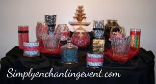 Decorated Candy Jars Candy Buffet 24