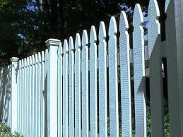 how to install a picket fence