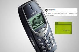 Indestructible' Nokia 3310 Phone Turns ...