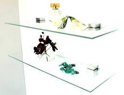 floating glass shelves for bar corner shower gl