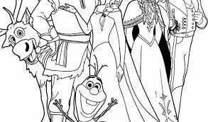 Small Picture Disney Frozen Printable Coloring PagesKids Coloring Pages