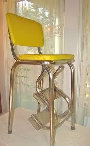 Vintage Mod Kitchen Stool with FoldOut Steps in by TheGrayFedora, $55.00