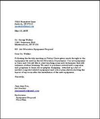 Sample Business Letters Format A Business Letter About Purchasing New Equipment Businessletter