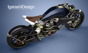 turbo v twin concept motorcycle by igarashi design custom