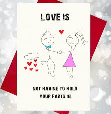love vouchers blank for you to fill your special iou s love is not having to hold your farts in funny rude character birthday