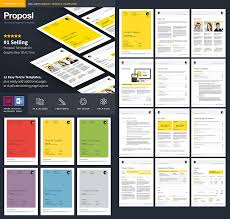 40 Best Business Proposal Templates For New Client Projects Unique Proposal Template Microsoft Word