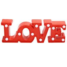 Wedding Love Lights Amazon Com Led Love Light Up Sign Letters Night Lights
