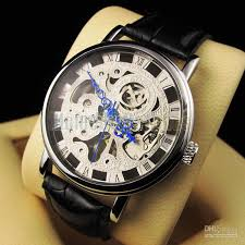 luxury mens watch hot unique skeleton transparent hand winding luxury mens watch hot unique skeleton transparent hand winding mechanical mens wrist watches online 66 29 piece on noblenessoo s store dhgate com