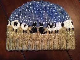 Border Collie Knitting Chart Border Collie Sheep Hat Chart Pattern By Meg Ravelry