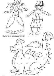 Disegno Per Bambini Da Colorare Gratis San Michele Drago Michaelmas