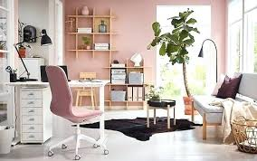 Home office living room ideas Corner Office Room Ideas For Home Pink And White Home Office With Sit Stand White Desk Home Office Living Room Ideas The Hathor Legacy Office Room Ideas For Home Pink And White Home Office With Sit