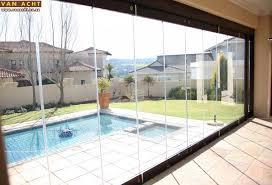 frameless patio doors braai and patio makeovers