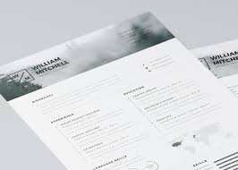 20 Free Editable Cv/resume Templates For Ps & Ai Throughout Resume ...