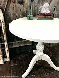 painted wood coffee table how to repaint furniture painted pedestal table white painted wood coffee table
