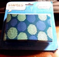 staples locker bin pencil school supplies holder magnetic flower design