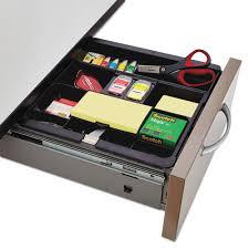 desk drawer organizer. Modren Organizer Black Recycled Plastic Desk Drawer Organizer Tray Plastic Inside I