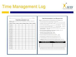 time management log habit 3 put first things first ppt download