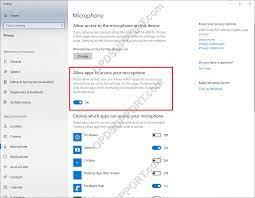 Windows 10-Mikrofon-Datenschutzeinstellungen - Olympus Professional  Diktat-Unterstützung