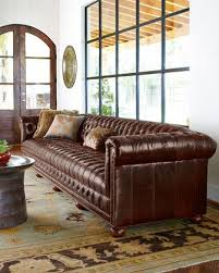 long leather couch. Perfect Long Extra Long Tufted Leather Sofa For Long Leather Couch I